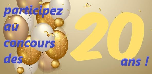 logo du concours des 20 ans