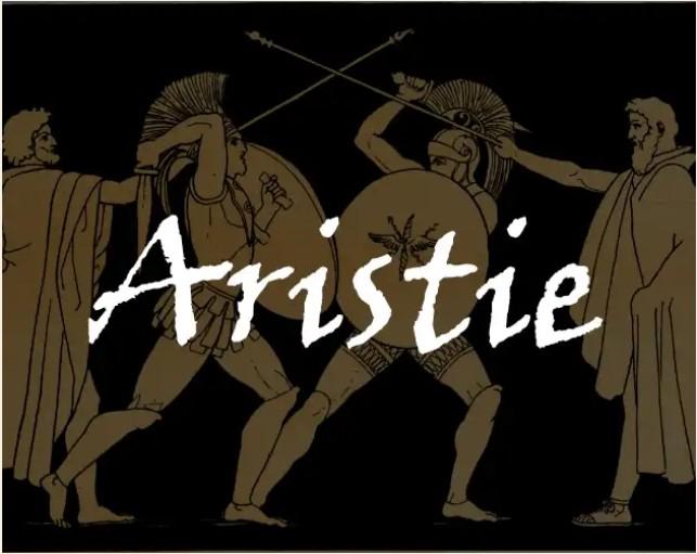 Couverture d'Aristie : hoplites combattants
