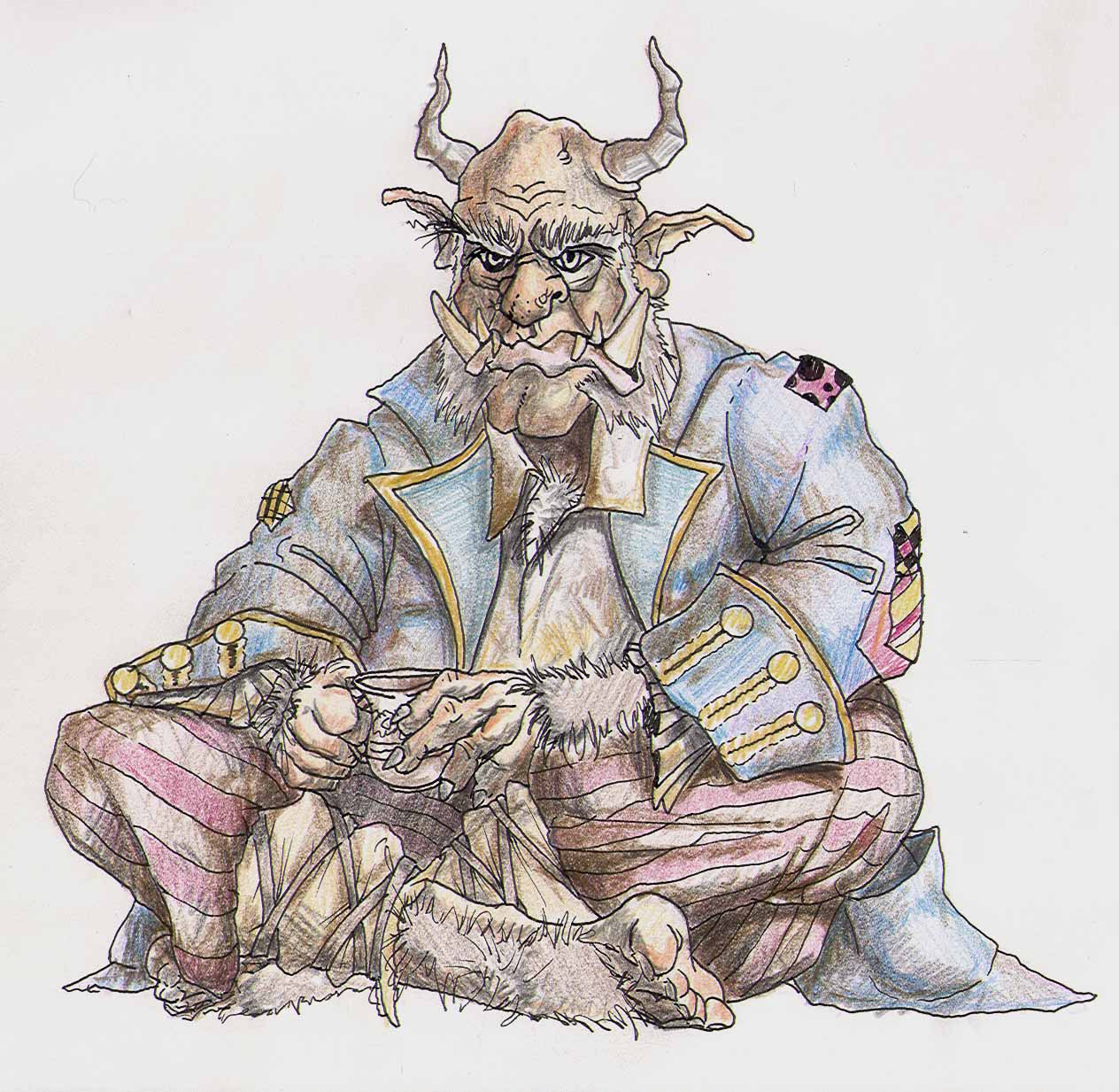 Ogre, par Jeffrey V. Brimley