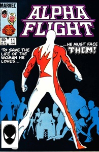 "Comics Marvel ""Alpha Flight"""
