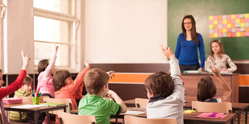 Pour des élèves enthousiastes en salle de classe
