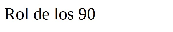 Un article du blog Rol de los 90