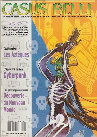 Casus Belli 62 sur les Aztèques