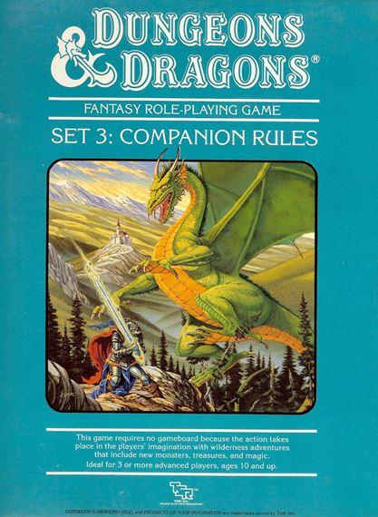 Règles D&D Compagnon : Boîte 3