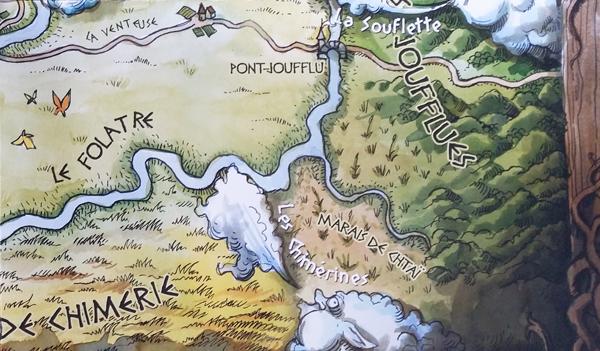Détail du pays de Thysane pour Rêve de dragon