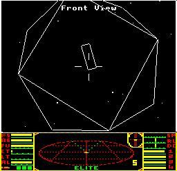 Frontier Elite - station spatiale