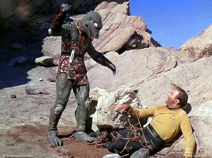 Un Gorn dans Star Trek