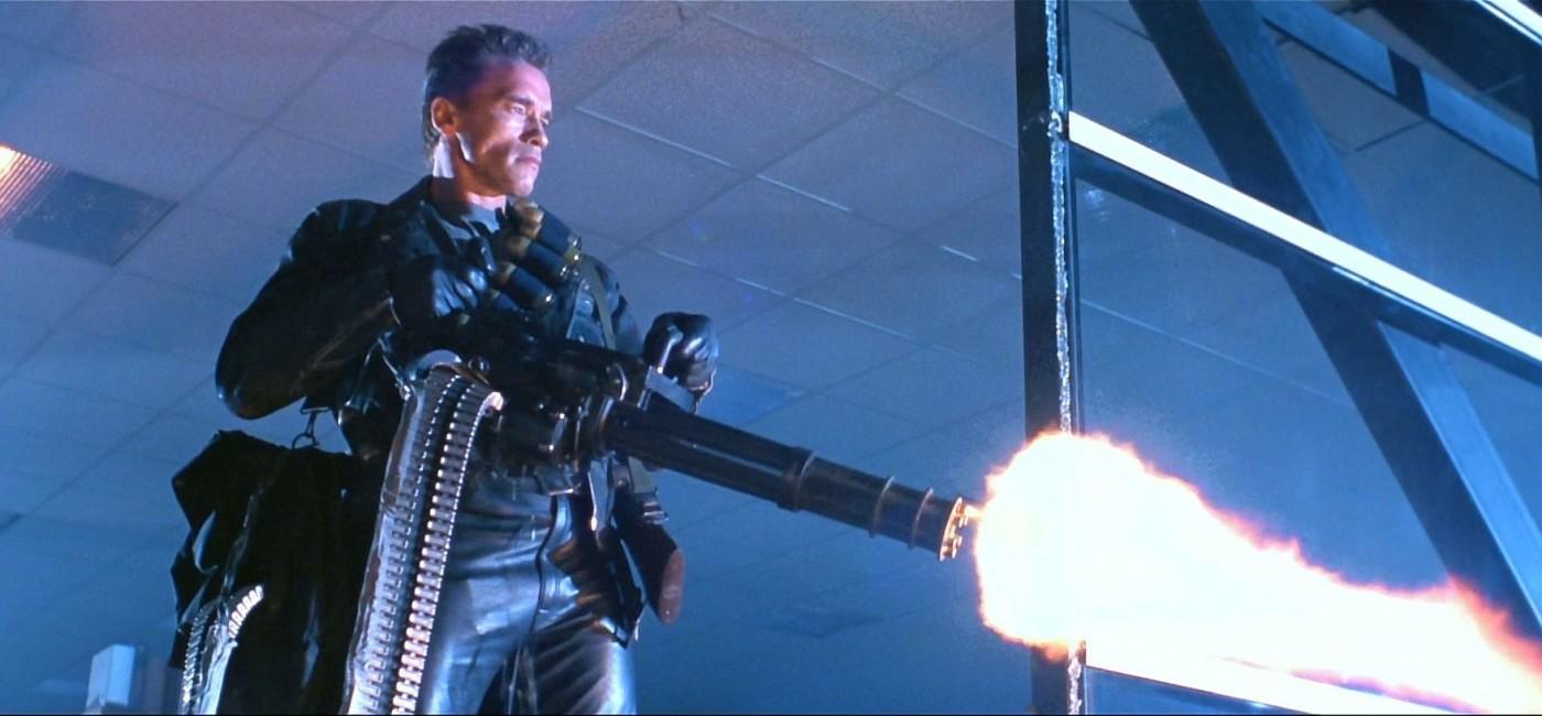 La mini-mitrailleuse Terminator 2