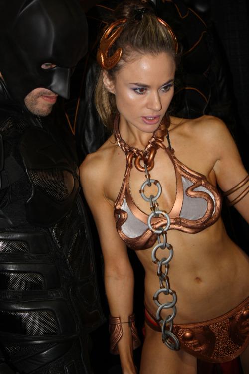 Tenue d'esclave de Leia