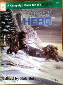 Couverture de Fantasy Hero, supplément de Fantasy pour le système Hero