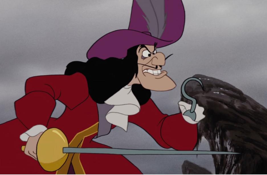 illustration du Capitaine Crochet