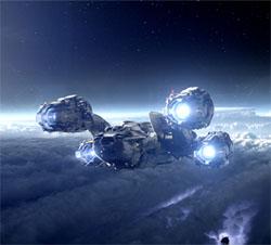 film Prometheus - vaisseau