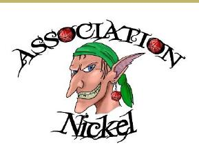 Nickel, mascotte de l'association éponyme