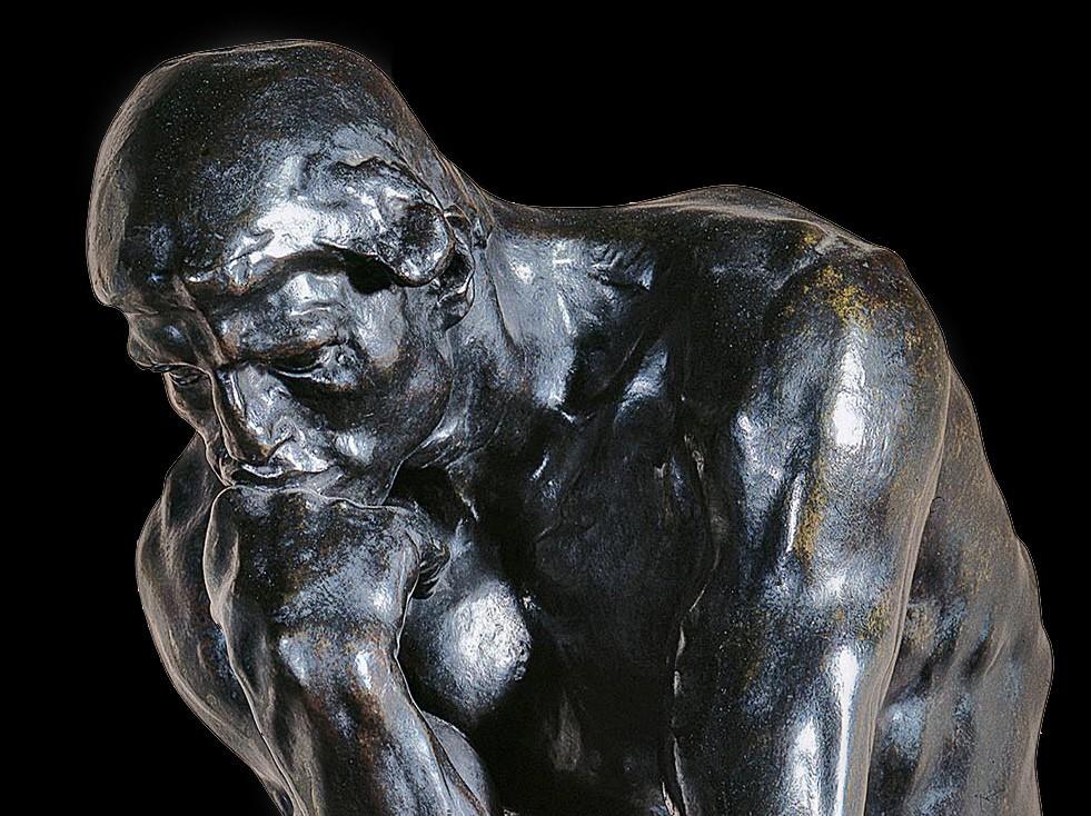 Le Penseur, de Rodin