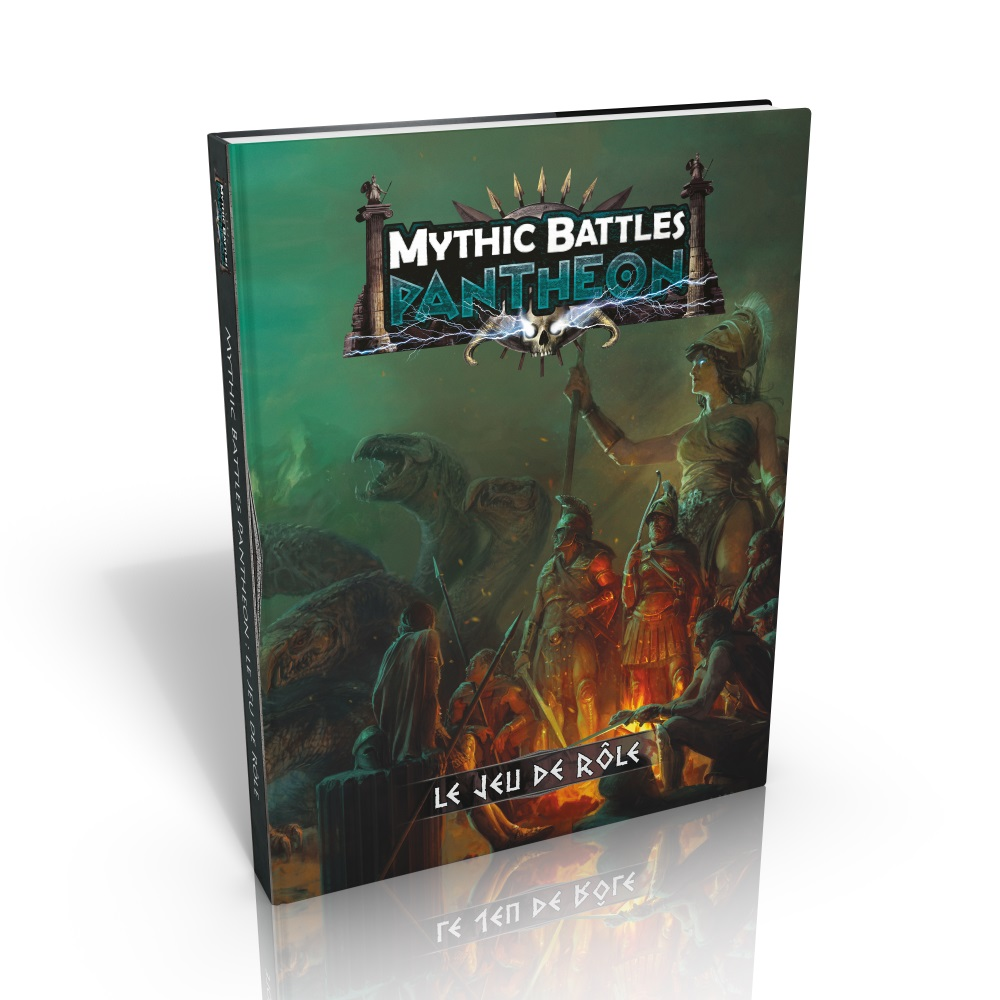 Lot JdR Mythic Battles Pantheon