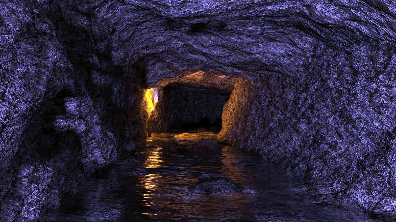 couloir souterrain