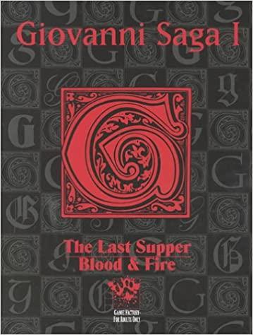 Supplément Giovanni Saga I pour Vampire