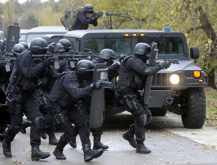 équipe du SWAT