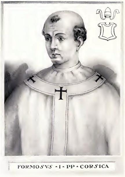 Représentation du pape Formosus